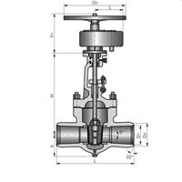 太仓正齿轮传动焊接闸阀