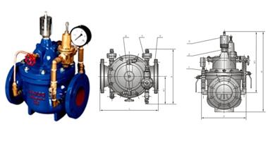 HC400X流量控制阀门