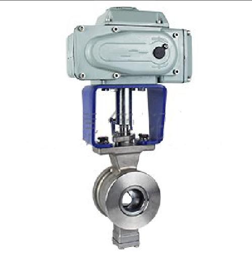 VQ977H、ZDRV电动V型调节球阀