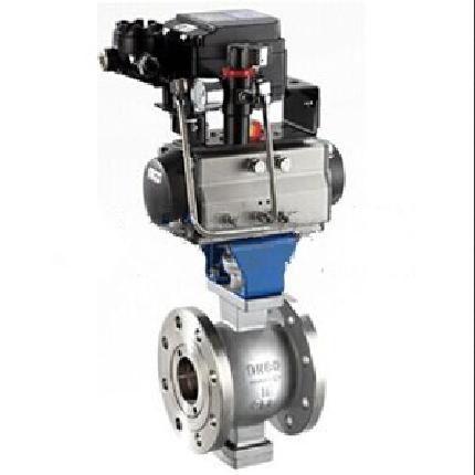 VQ647H气动V型调节球阀