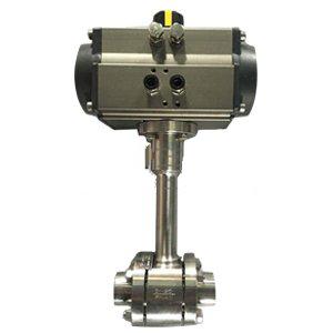 DQ661F气动低温球阀